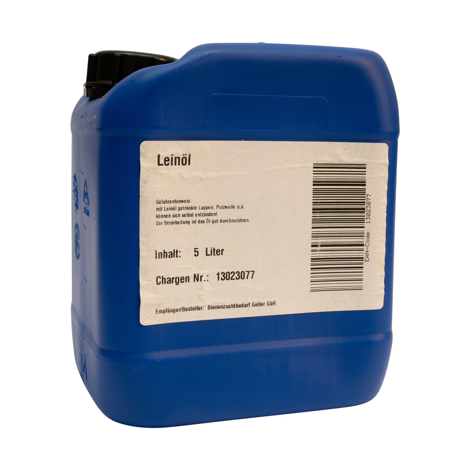 Leinöl, Kanister 5 Liter