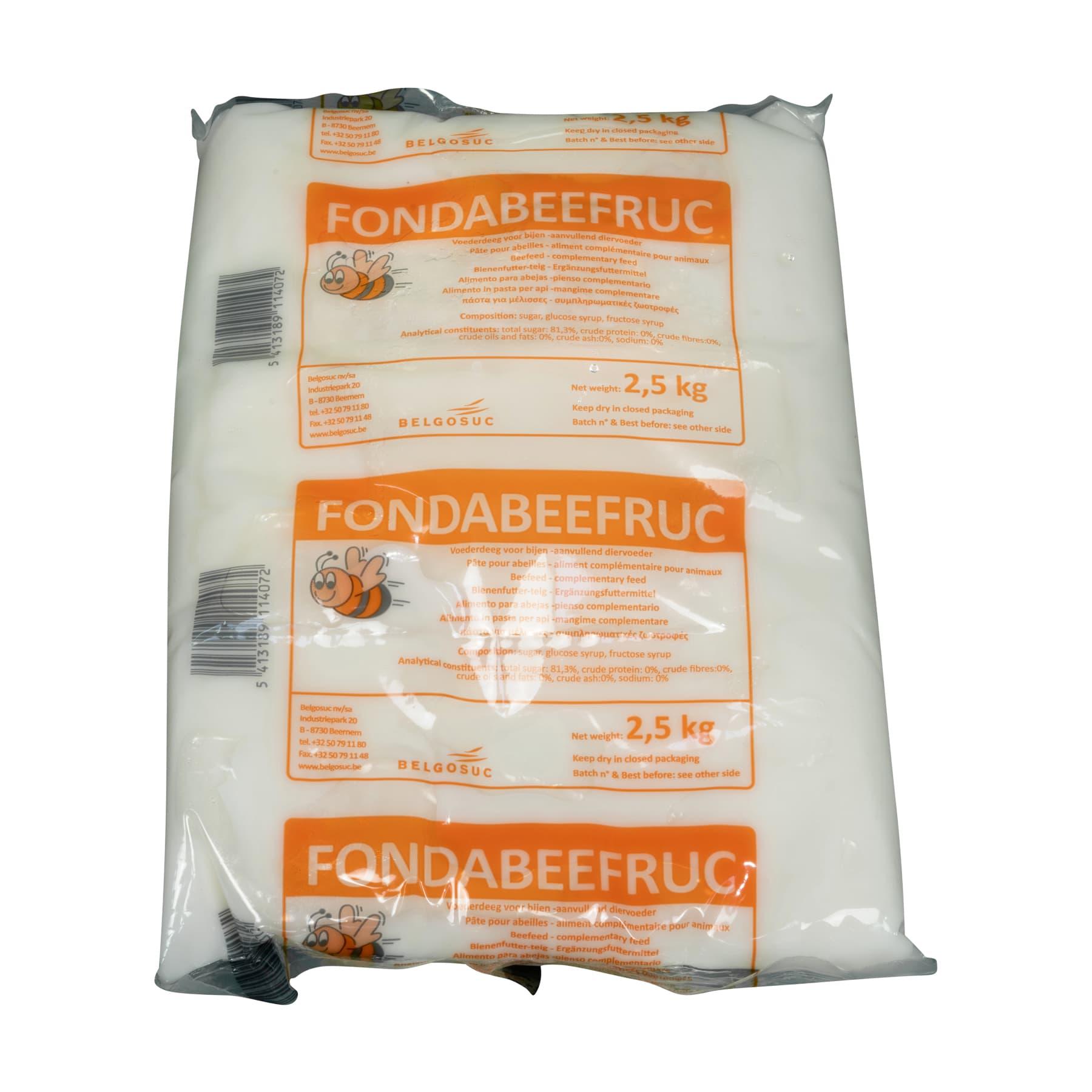 Futterteig Fondabeefruc 2,5 kg