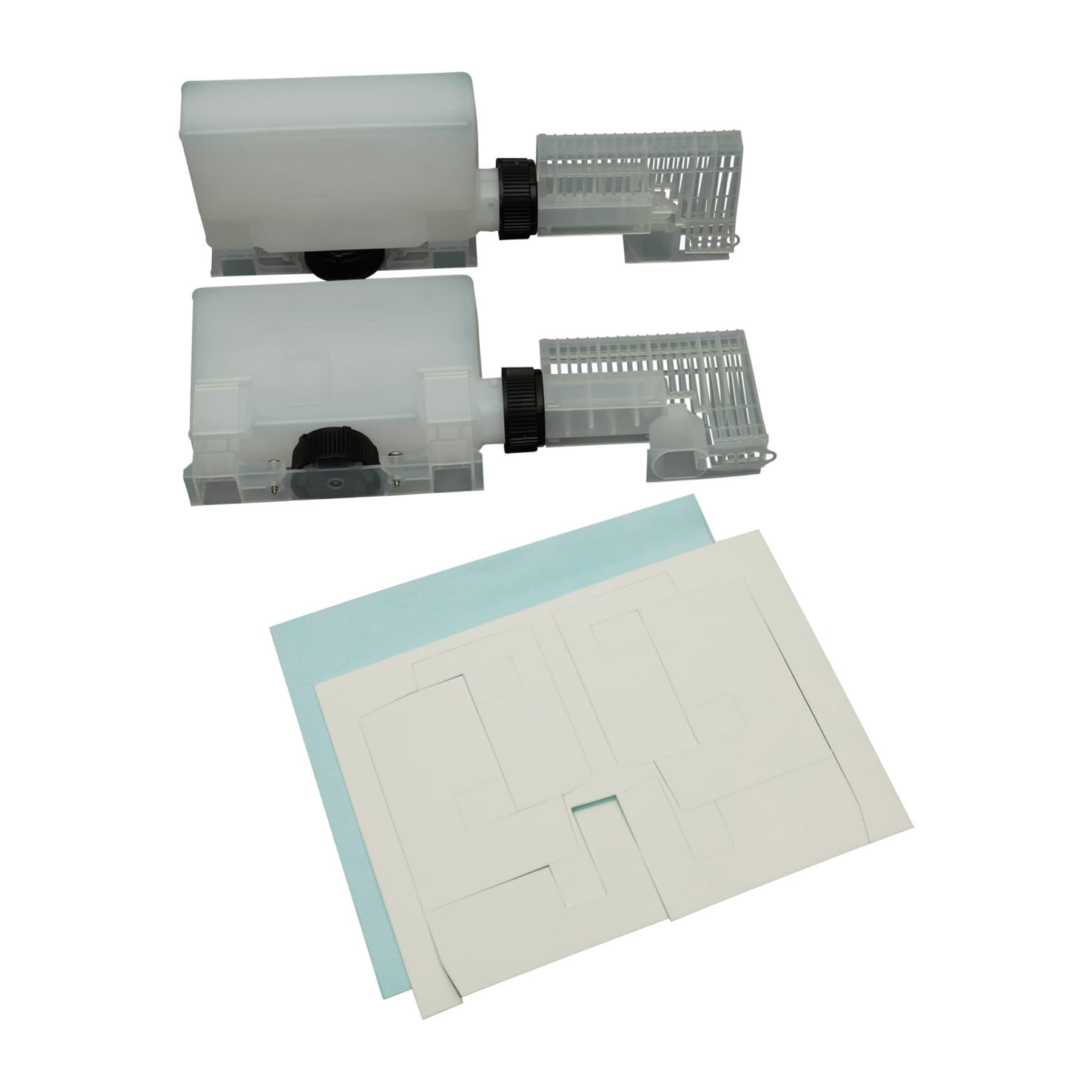 2 Nassenheider Horizontal Verdunster Doppelpack inkl. U-Dochte und 2 Vliestücher Hersteller Artikel Nr. 30025 NEUES MODELL