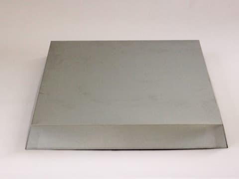 Blechdeckel verzinkt, konische Form, Innenmaß 545 x 447 x 65 mm für Heroldbeute